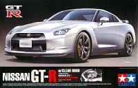 NISSAN GT-R (R35) クリヤーボンネット付