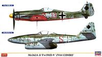 Me262A & Fw190D-9 第44戦闘団 コンボ (2機セット)