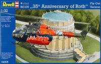 レベル 1/32 Aircraft Bo105 35th Anniversary of Roth Fly Out Version
