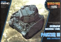 MENG-MODEL WORLD WAR TOONS ドイツ 3号戦車