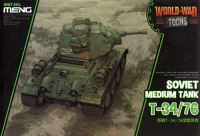 MENG-MODEL WORLD WAR TOONS ソビエト 中戦車 T-34/76