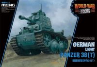 MENG-MODEL WORLD WAR TOONS ドイツ 軽戦車 38(t)