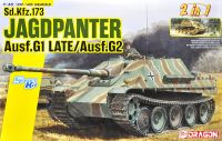 Sd.Kfz.173 ヤークトパンター Ausf.G1 後期生産型/Ausf.G2 (2 in1)